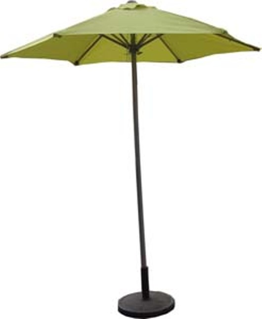Standard Steel Push Up 2m Parasol 336775 Green