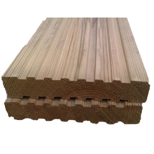 Green Treated 32X125mm Decking Softwood [PEFC]