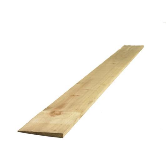 Treated Feather Edge Board 125mmx1.8Mtr Green [FSC]