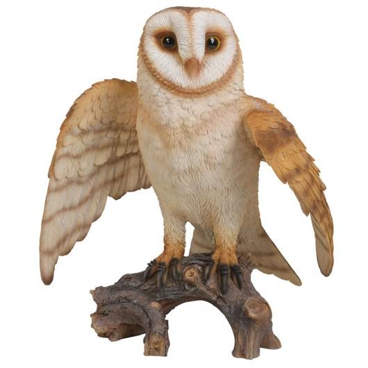 Vivid Arts Flying Barn Owl B Xrl-Fbar-B