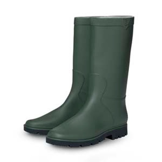 Wb05G04 Short Wellington Boot - Size 4