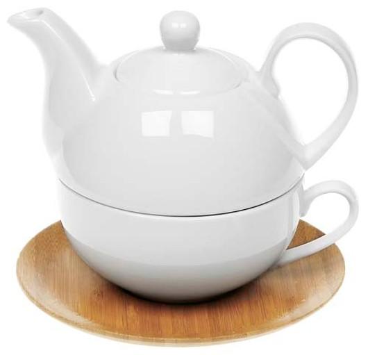 White Bamboo Tea For 1 21522
