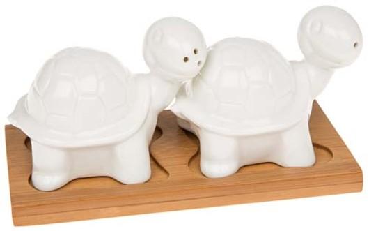 White Bamboo Tortoise Cruet 66213