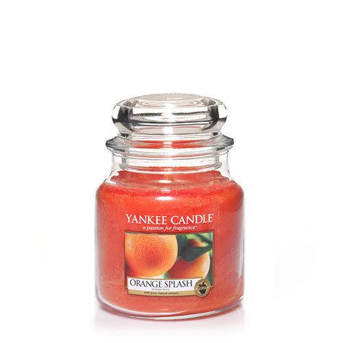 Yankee Orange Splash Medium Jar