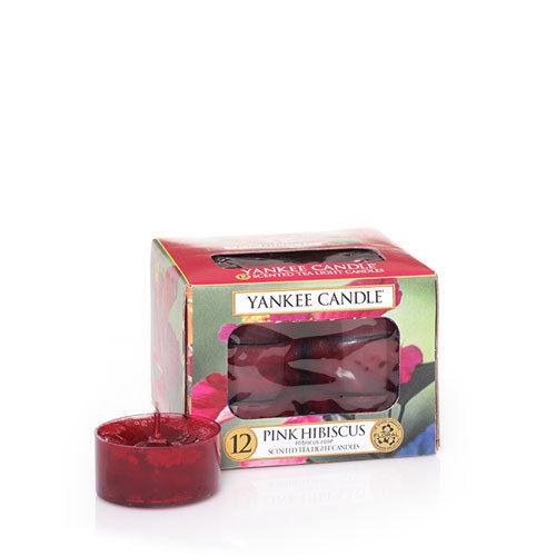 Yankee Pink Hibiscus Tea Lights