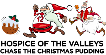 2018 Hospice of the Valleys Chase the Christmas Pudding Festive Family Fun Run