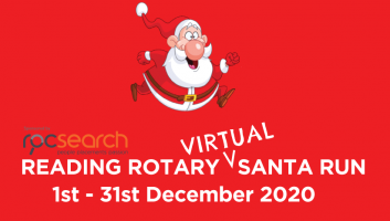 2020 Reading Rotary Virtual Santa Run