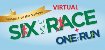 Hospice of the Valleys Virtual Six Mile Race and Junior One Mile Run 2021