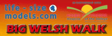Hospice of the Valleys Big Welsh Walk 2021