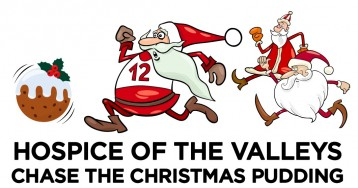Hospice of the Valleys Chase the Christmas Pudding Festive Fun Run 2021