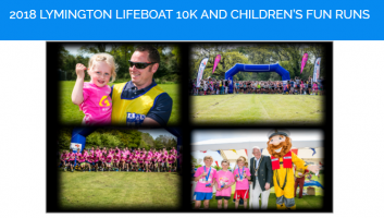 2018 Lymington Lifeboat 10k and Children's Fun Runs