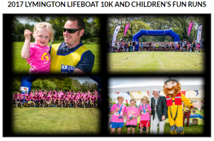 2017 Lymington Lifeboat 10k and Children's Fun Runs