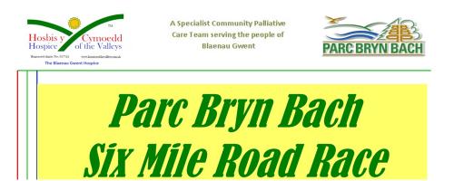 2017 Parc Bryn Bach Six Mile Road Race & Fun