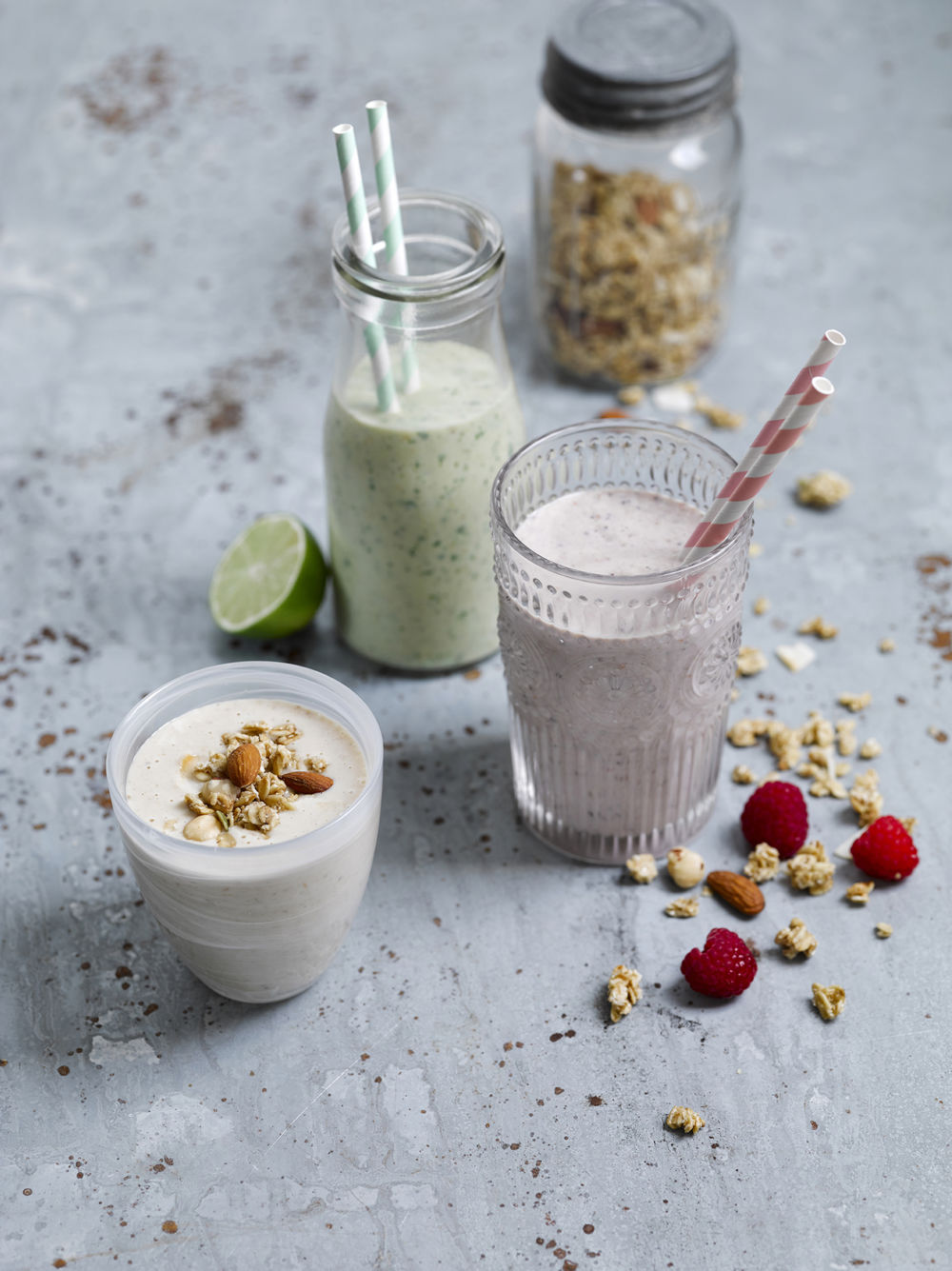 Banana Oat Peanut Butter Smoothie