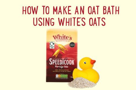 How To Make An Oat Bath Using Whites Oats