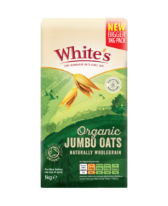 Whites 1Kg Organic Jumbo Oats