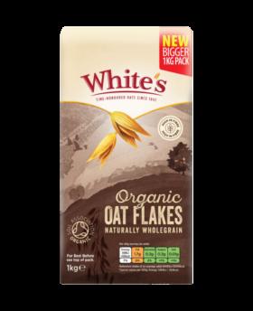 Whites 1Kg Organic Oat Flakes