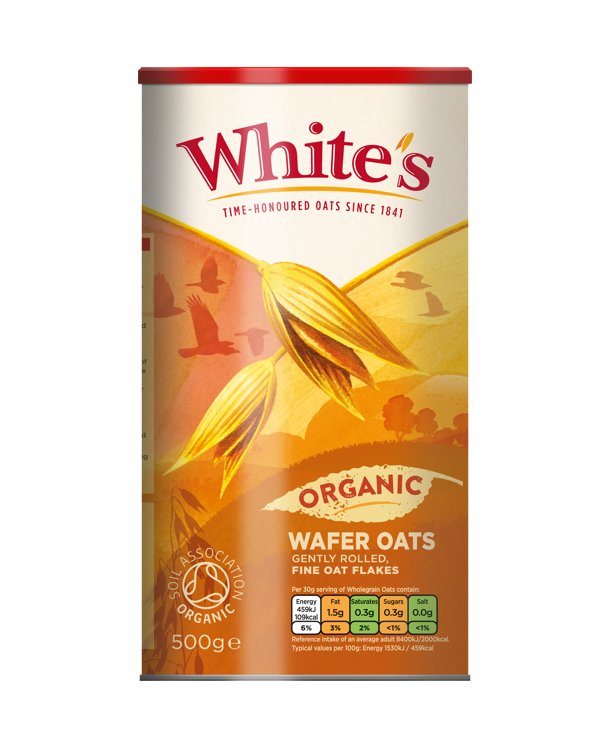 Whites Organic Wafer Oats 610 X 749