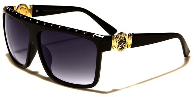 Neu Damen Mädchen Kleo Strass Designer Diamante Sonnenbrille