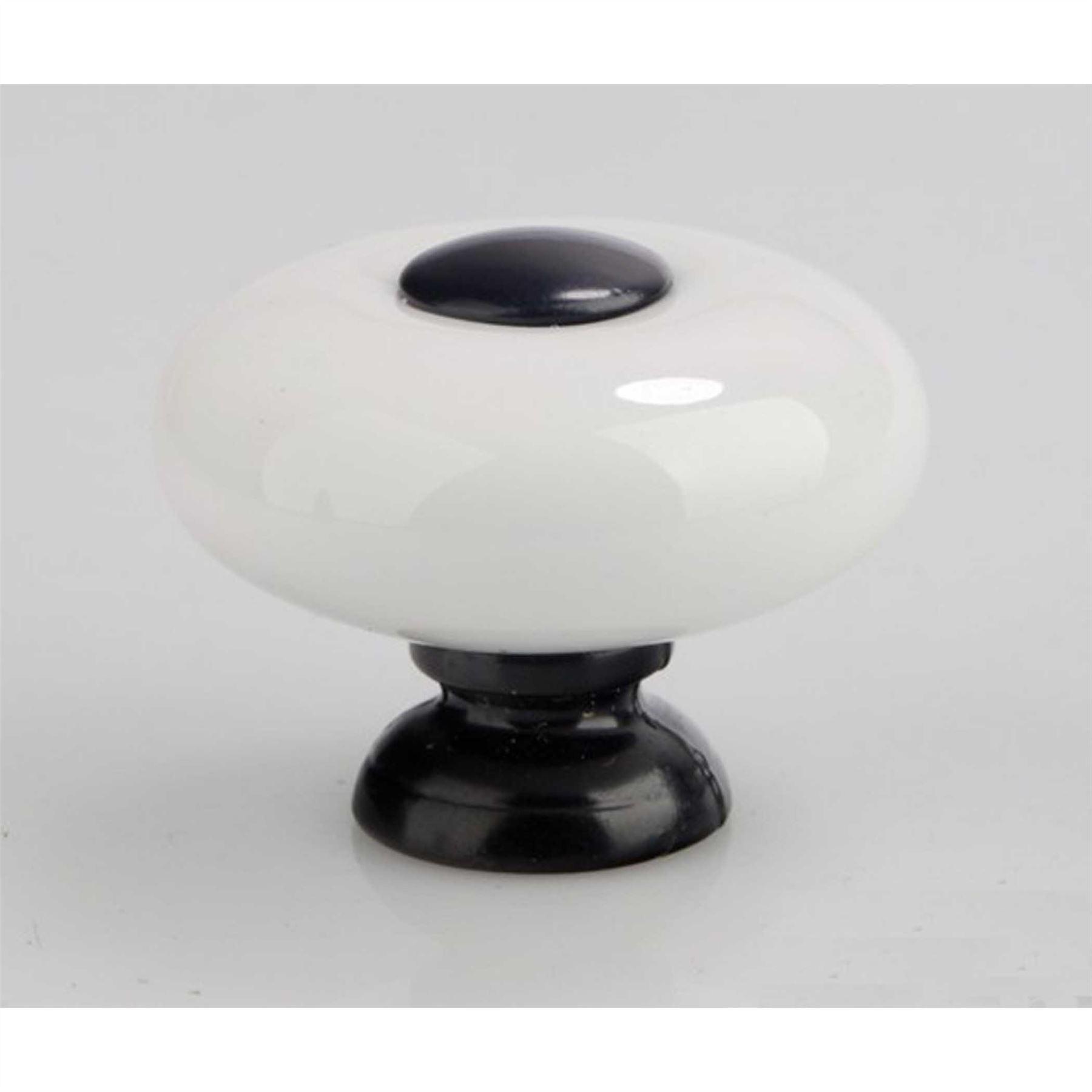 541115-De-Lujo-Armario-Tirador-Cajon-Puerta-Mango-Ceramica-Negra