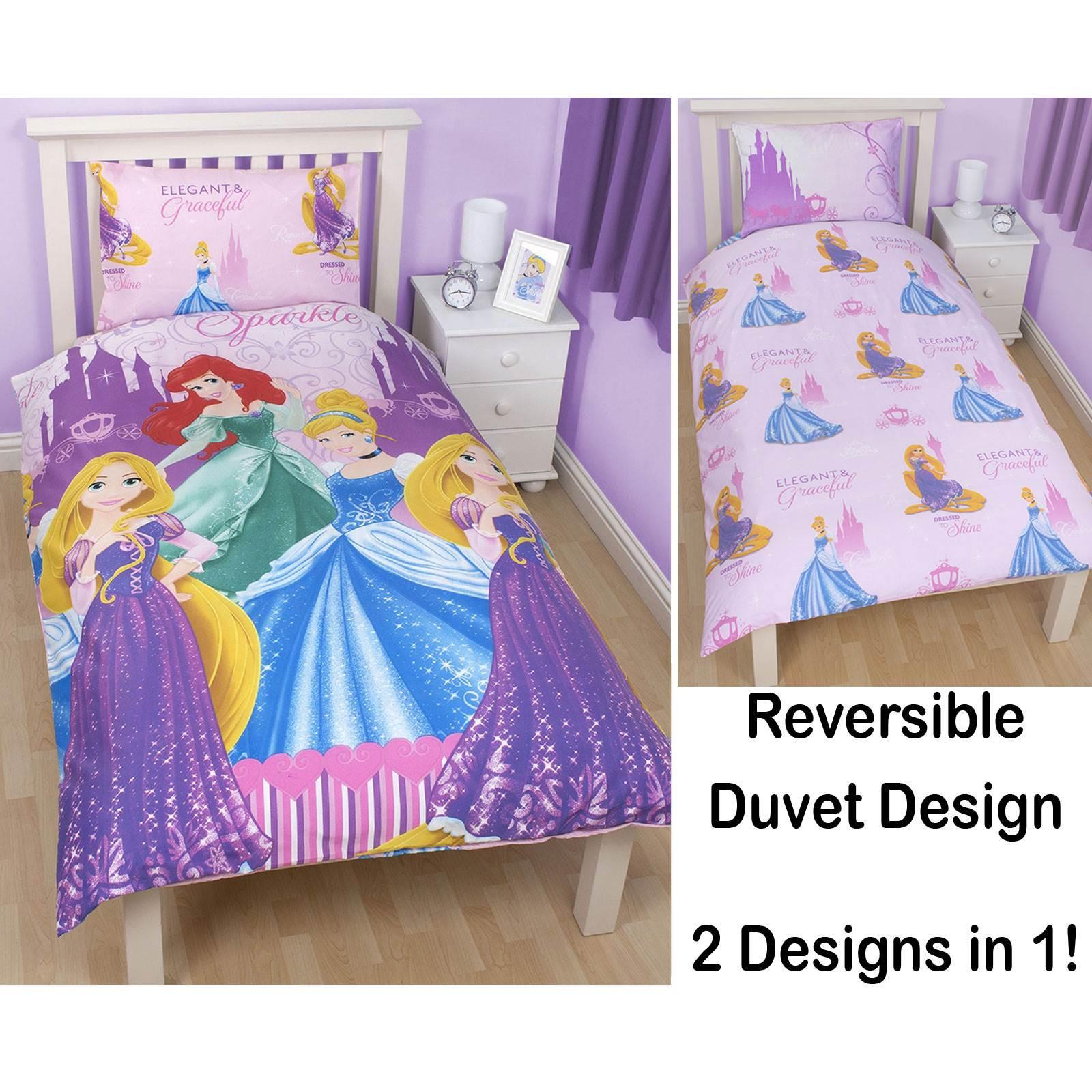 Kids Girls Boys Single Duvet Cover Sets Princess Nemo