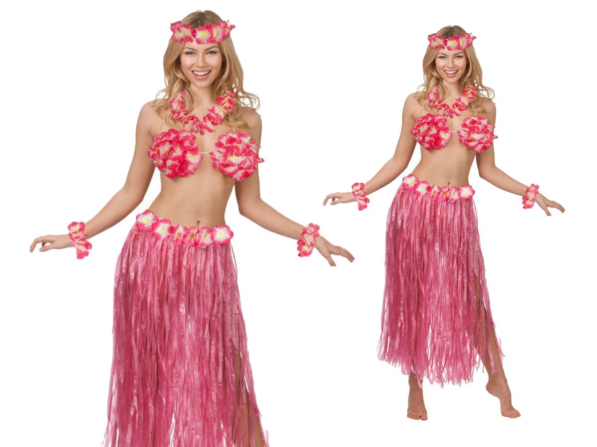 Hawaii Party Set 5 Teile Kostüm Outfit Hawaii Kostüm Strand Party ...