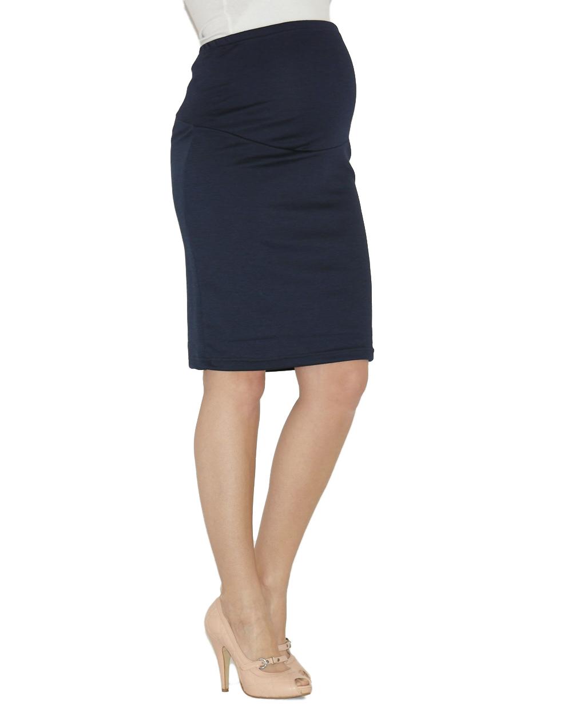 maternity rock pregnancy pencil skirt skirt midi stretch