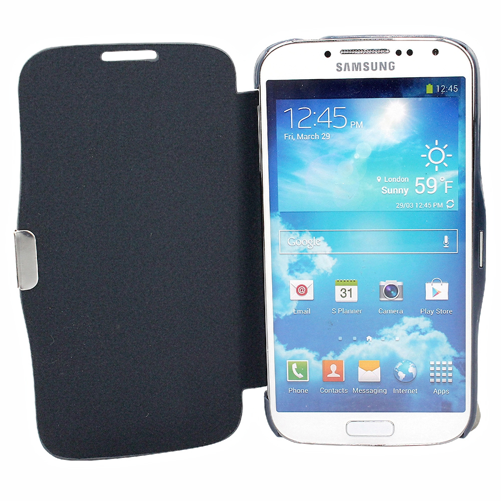 protective case samsung galaxy s5 g900 cell phone flip bumper synthetic leather ebay. Black Bedroom Furniture Sets. Home Design Ideas