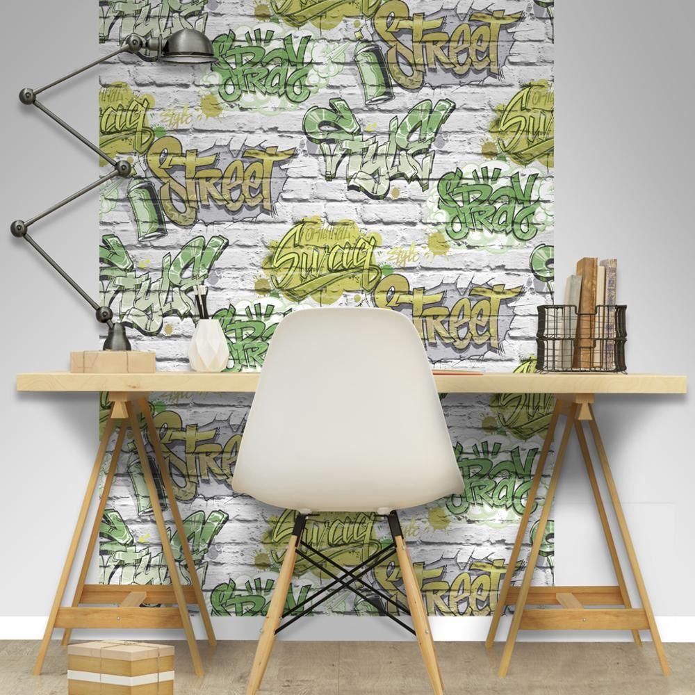 verde Papel pintado L17904 Muriva Street Style