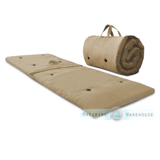 roly poly gast bernachten matratze zum aufrollen futon z bett umklappbar ebay. Black Bedroom Furniture Sets. Home Design Ideas