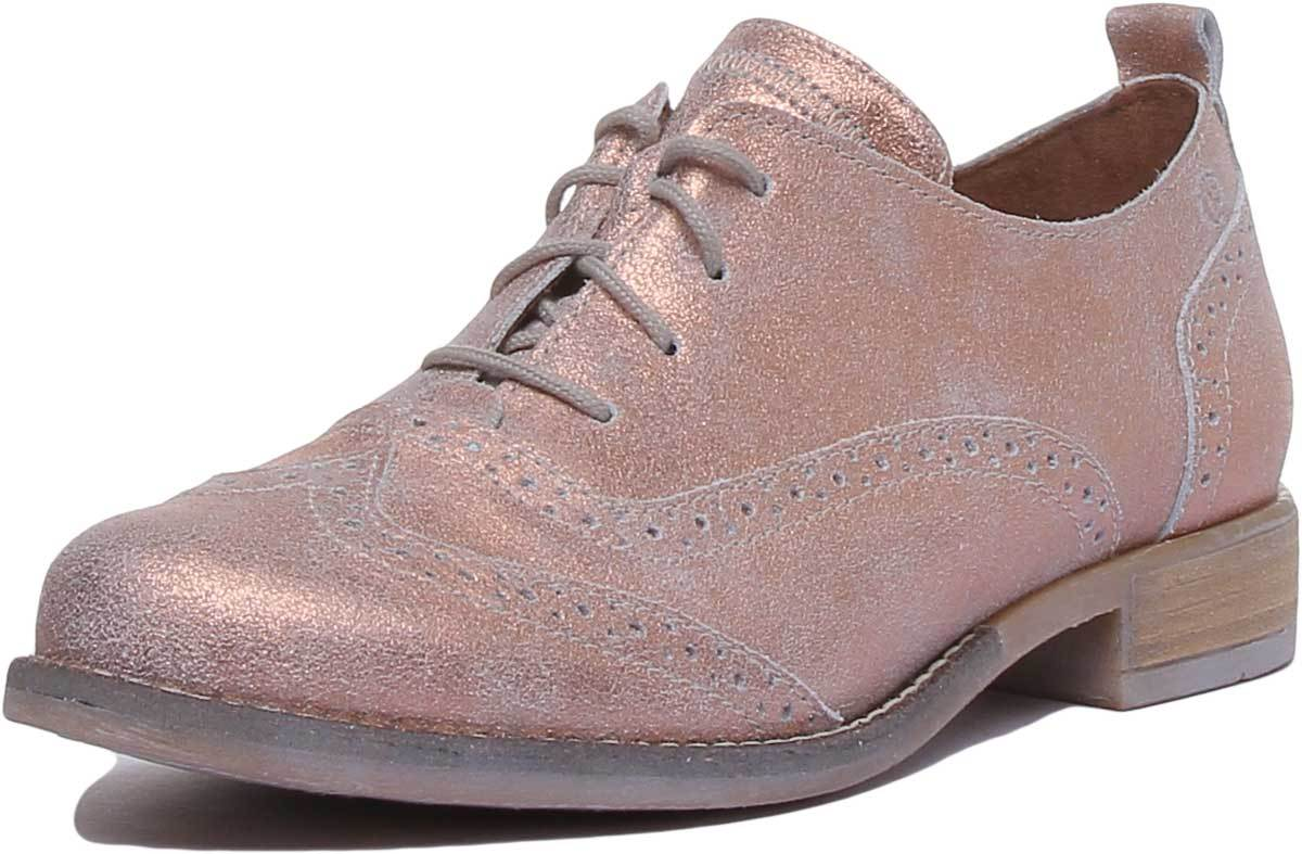 Josef Seibel Sienna 89 Womens Brogues Leather Matt Shoes