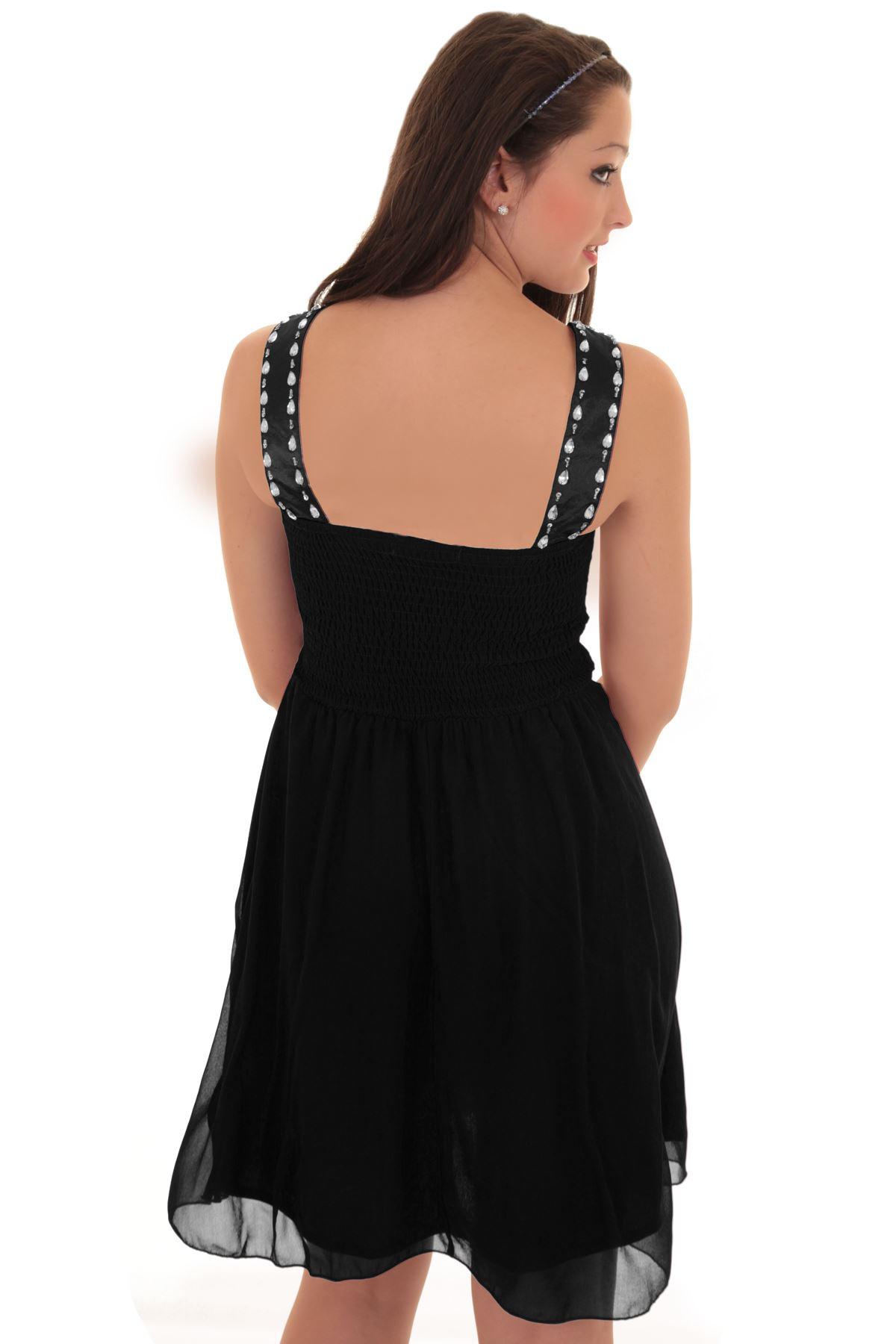 ᄄᆭvasᄄᆭe strass Col mousseline courte manches ᄄᆭvasᄄᆭe robe rembourrᄄᆭe de soie V sans en femmes b6vIf7gYy