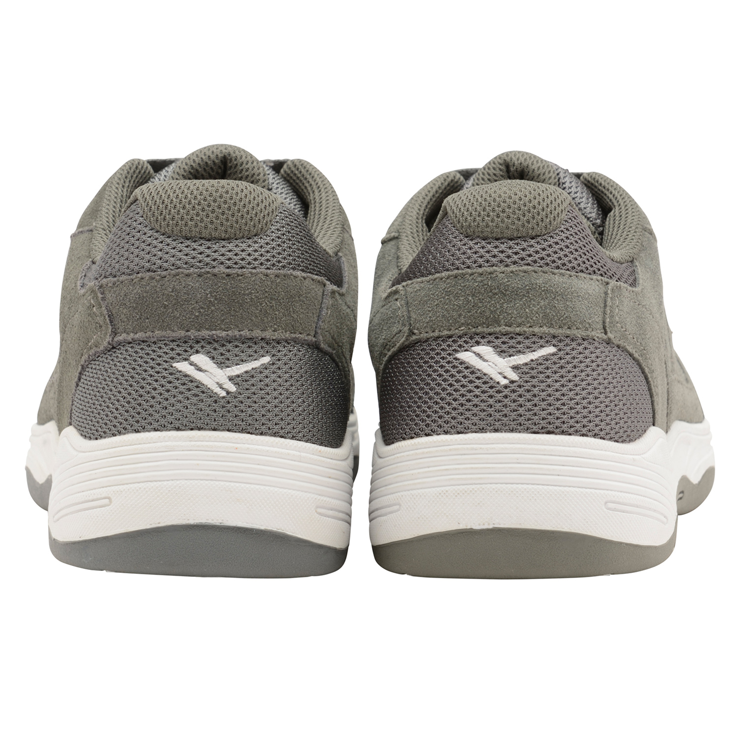 thumbnail 9 - Mens Gola Belmont Wide EE Fit Suede Sports Shoes Lace Up Non-Mark Sole Trainers