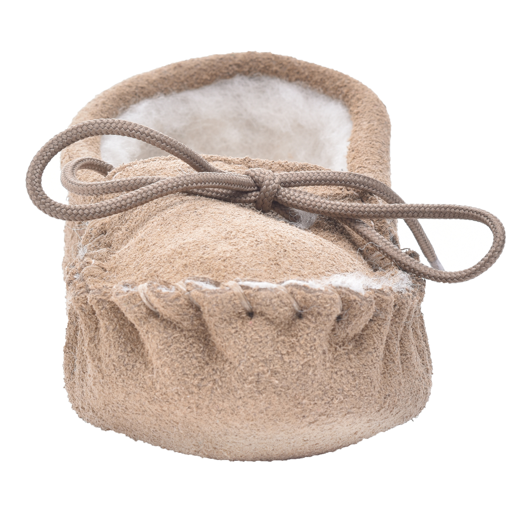 Childrens Sheepskin Moccasin Slippers British Made with Soft Sole by Lambland