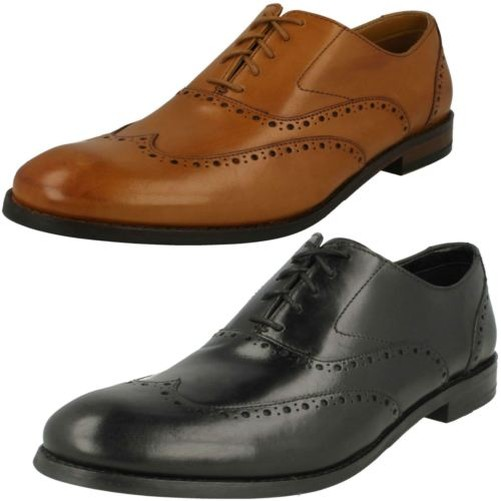 Mens Clarks Brogue Detailed Lace Up Shoes 'edward Walk' To Make One Feel At Ease And Energetic Men's Shoes