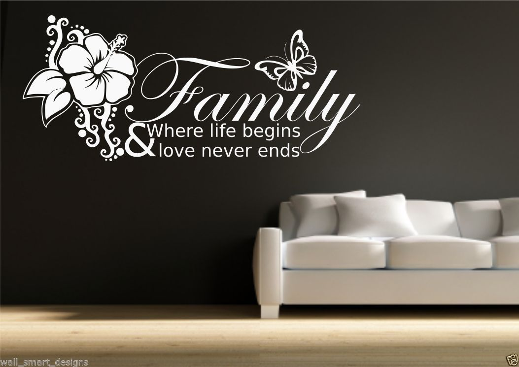 Family - where life begins & love never ends SVG Cut file ...  |Family Love Life