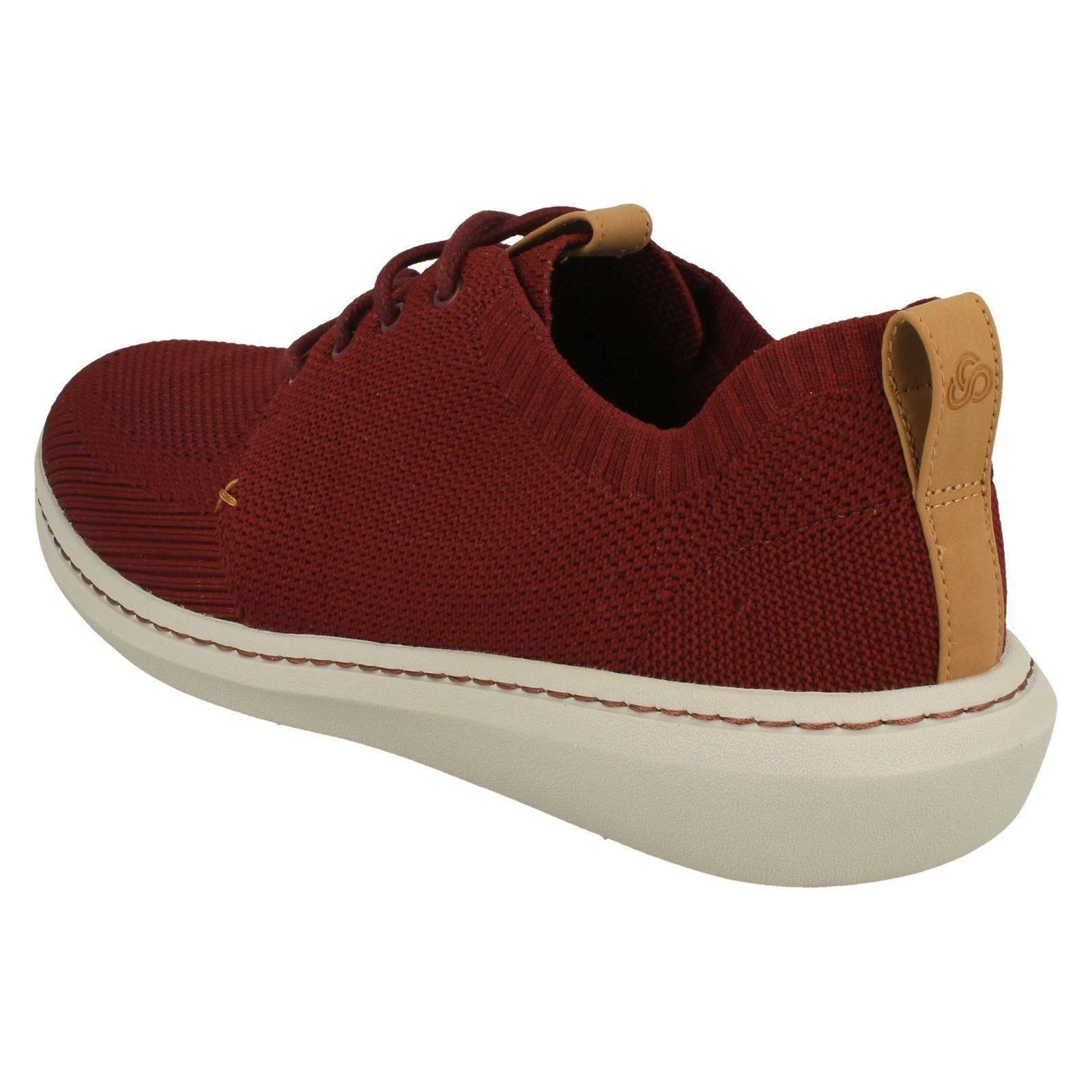 Mix Casual Clarks Cordones Zapatos Urban Con Paso Hombre 7Pq10wxq