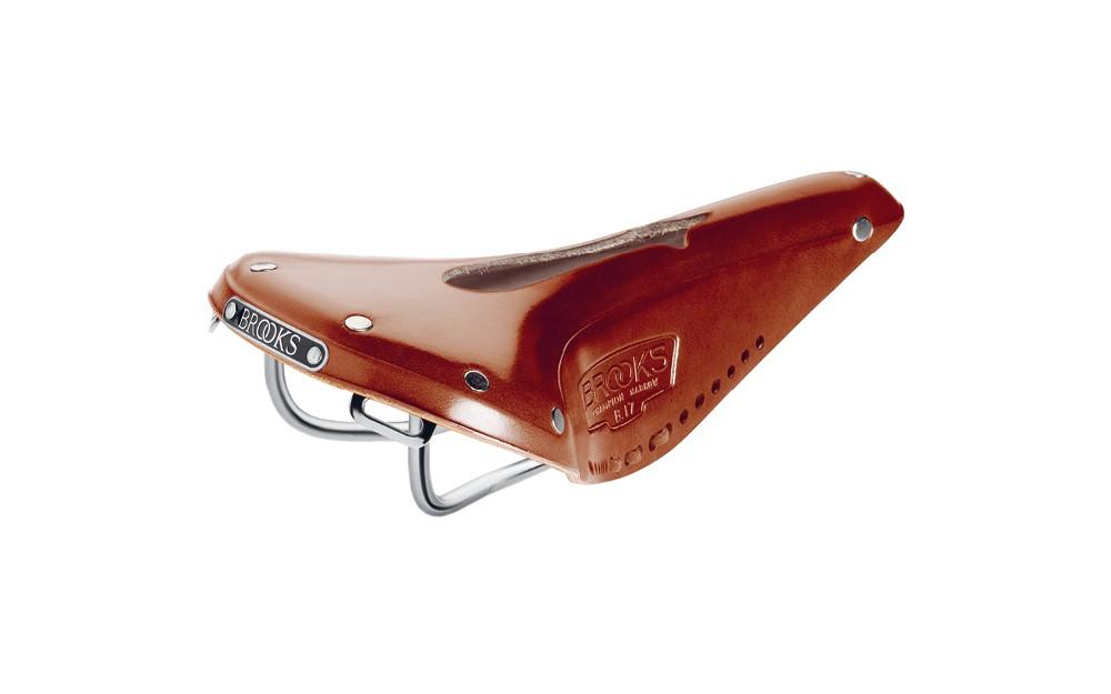 Brooks-B17-Narrow-Imperial-fahrrad-ledersattel-chromium-stahlrahmen-amp-Orificios
