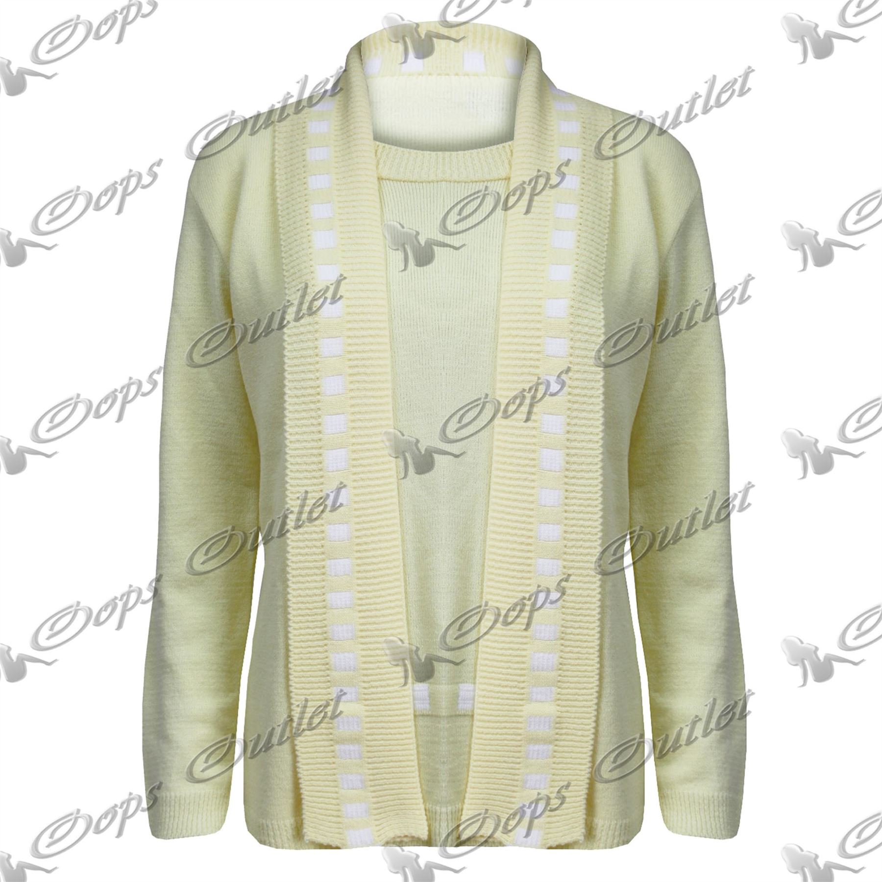 Femmes grand p re manches longues c ble tricot grosse maille cardigan long top ebay - Tricot grosse maille ...