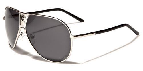 Khan Designer Sonnenbrille schwarz Herren Damen Piloten Metall Retro Vintage dTeIBByXz