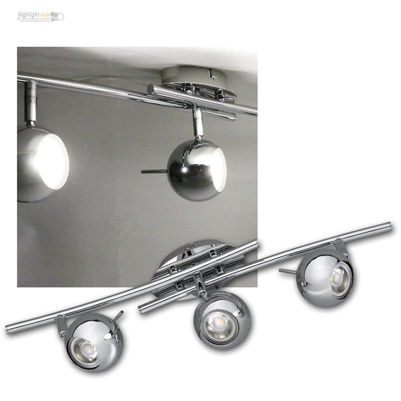 Lamparas-de-techo-cromado-3-5w-Calido-Luz-Solar-COB-LED-Luz-tipo-Spot