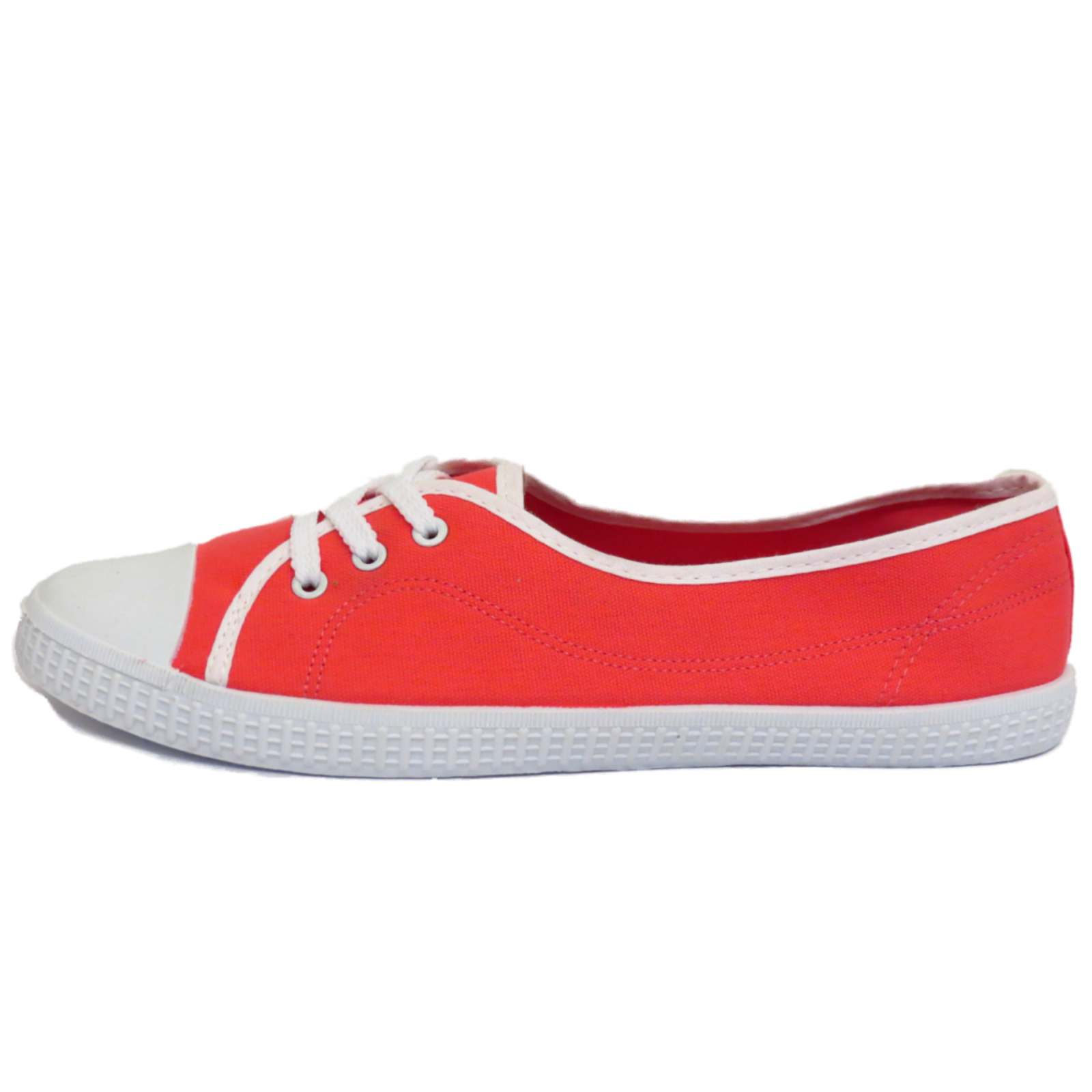 Vans Classic Slip-On Unisex Canvas Trainers Red - 42 EU