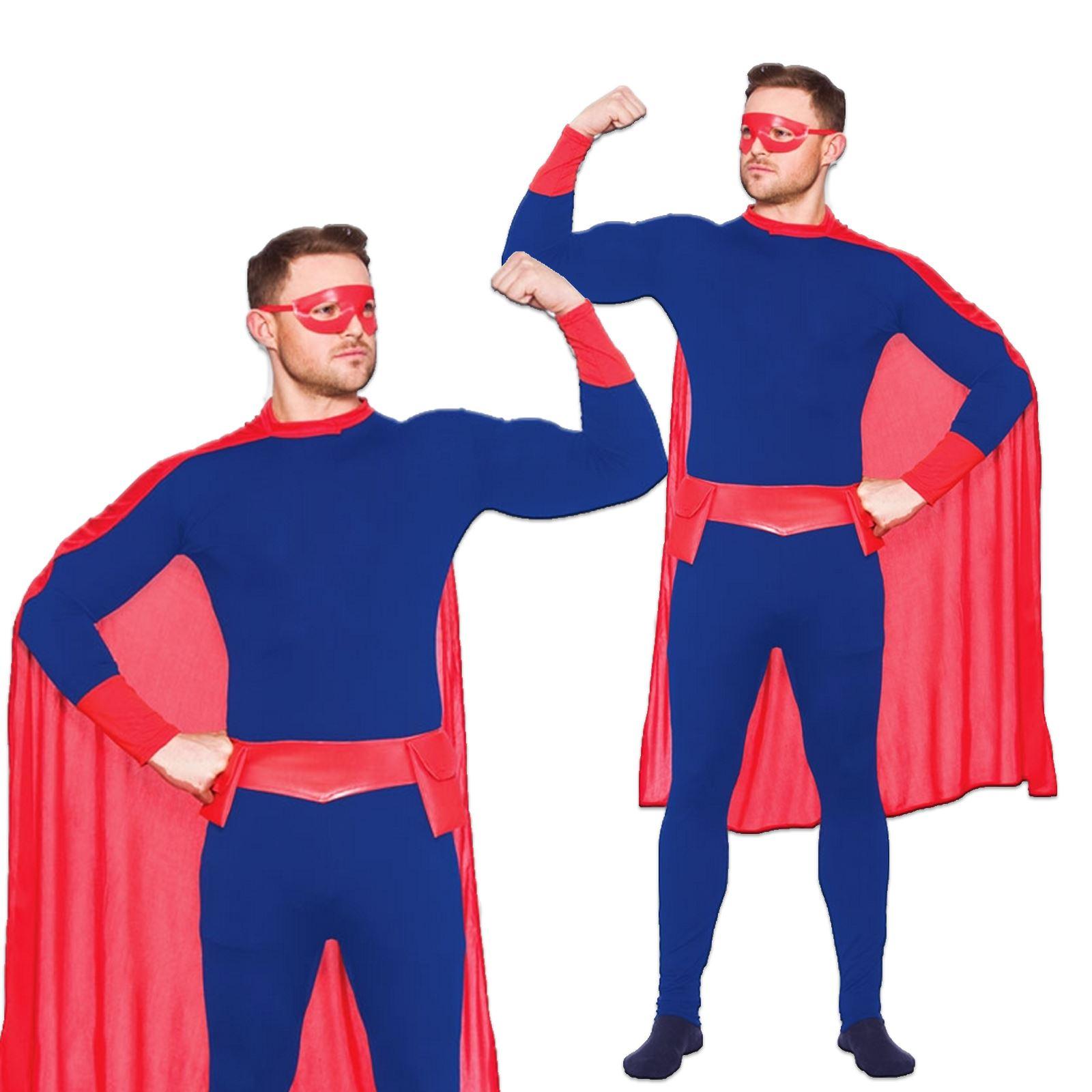 adultes pour hommes femmes super h ros cape masque ceinture costume d guisement ebay. Black Bedroom Furniture Sets. Home Design Ideas