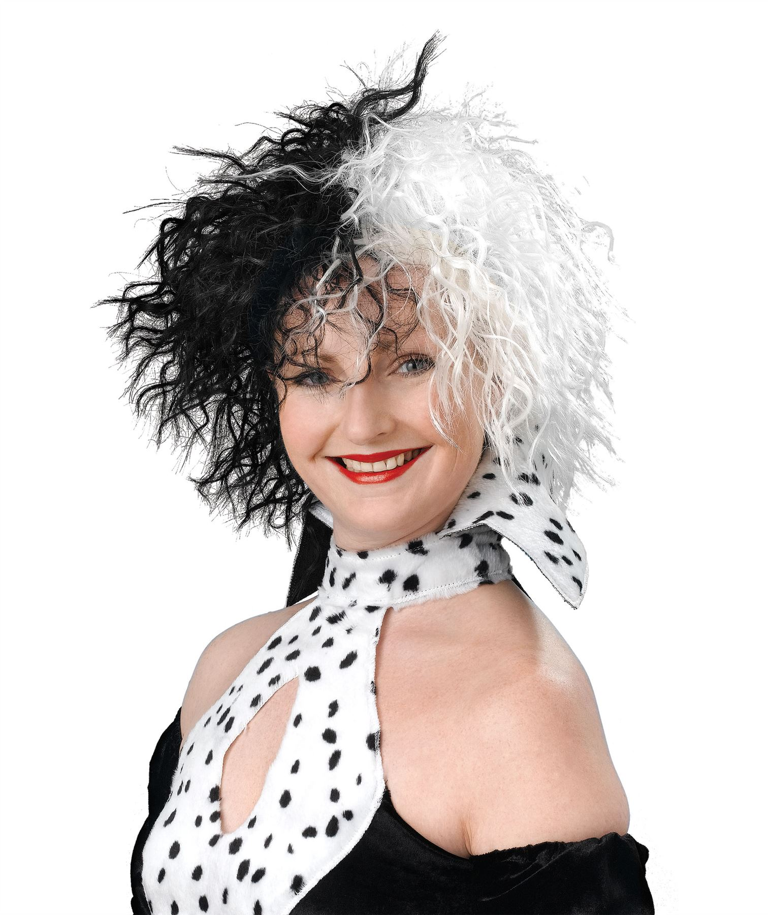 damen kinder cruella dalmatiner b chertag b sewicht kost m zubeh r outfit menge ebay. Black Bedroom Furniture Sets. Home Design Ideas