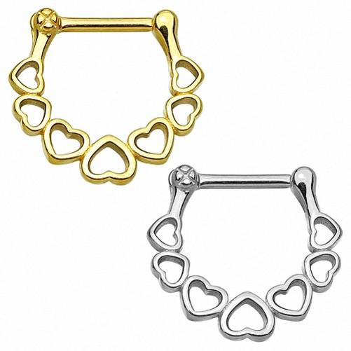 Septum-Piercing-Clicker-Placa-de-Nariz-Universal-Tragus-Oreja-Anillo-Cristal