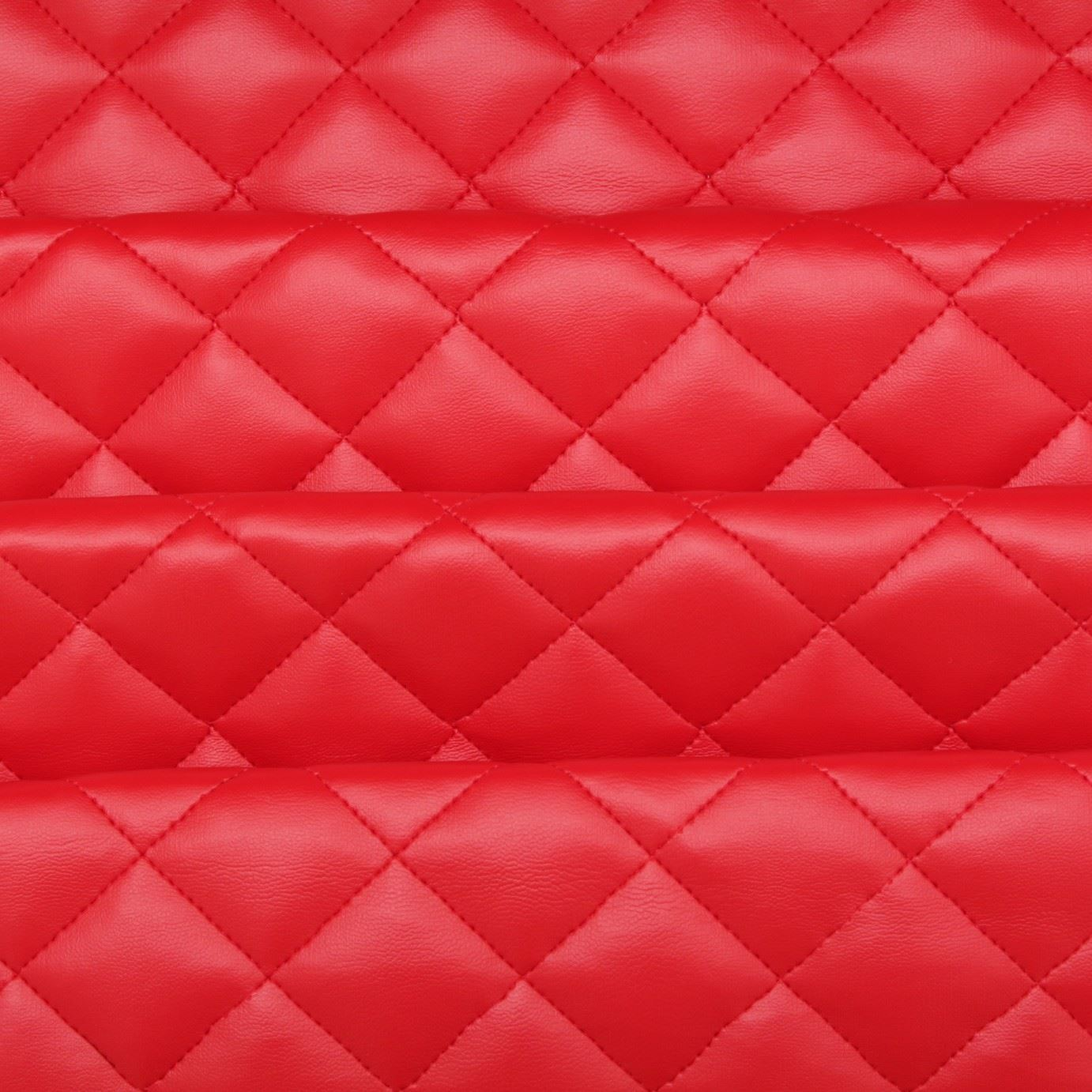 quilted leather diamond padded cushion faux leather interior upholstery fabric ebay. Black Bedroom Furniture Sets. Home Design Ideas