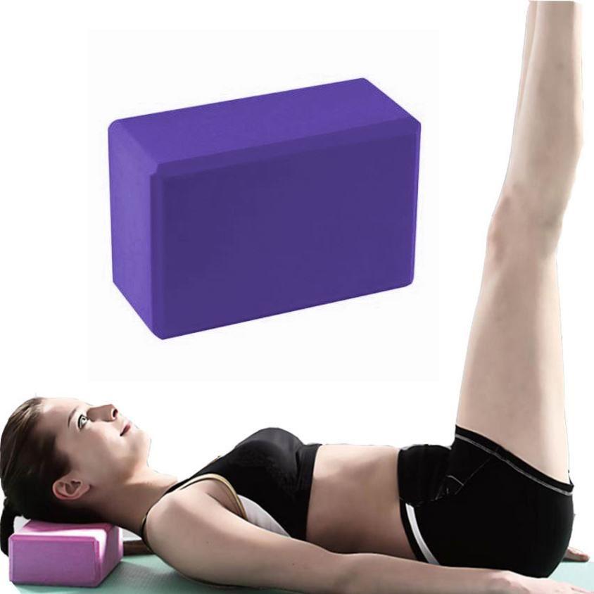 2x-Bodyrip-Pilates-Bloque-de-Yoga-Espuma-Brick-Ejercicio-Fitness-STRETCHING