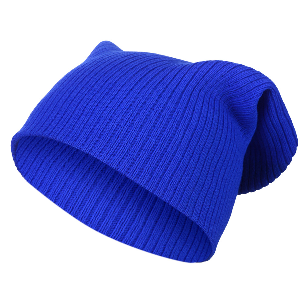 Knitting Pattern Long Beanie : Sense42 Long Beanie Unisex Knit Cap with Rib knitting ...