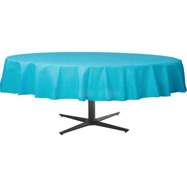 Resistente-Color-Vajilla-Redondo-Mesa-Fundas-213cm-D-Cumpleanos-Boda-Catering