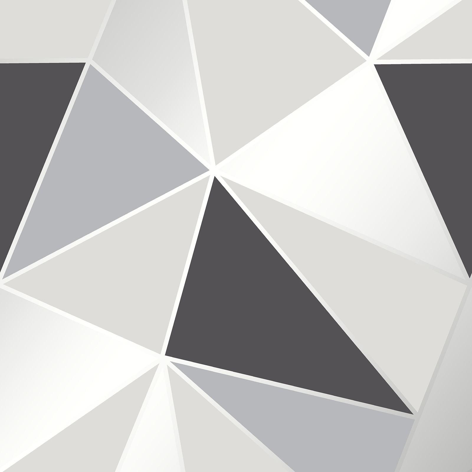 geometric wallpaper metallic textured smooth diamonds triangles